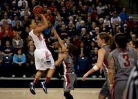 Gonzaga's Haiden Palmer goes up for shot | Gonzaga v Washington State | 12/29/12