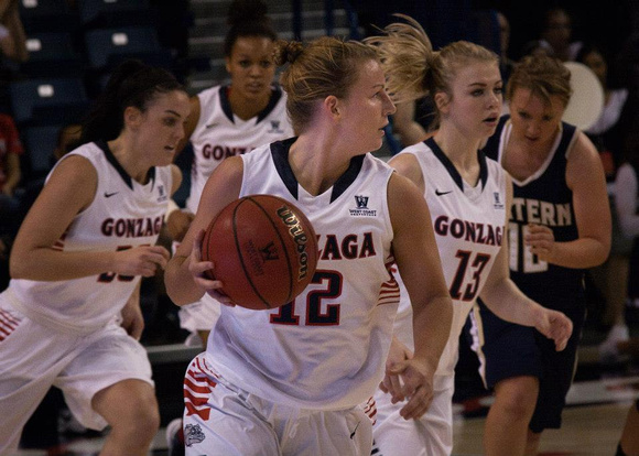 Taelor Karr leads the Gonzaga pack to defeat Eastern Oregon | 11/3/12